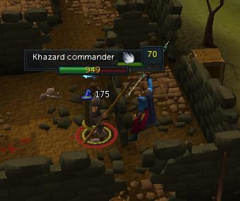 Attack Khazard Commander
