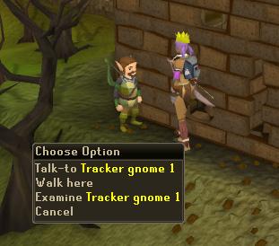 Talk to Gnome Tracker 1