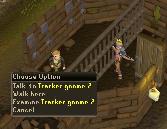 Talk to Gnome Tracker 2