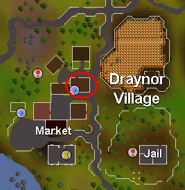 Morgan's house in draynor village