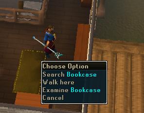 Search the bookcase