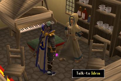 Talk to Idria
