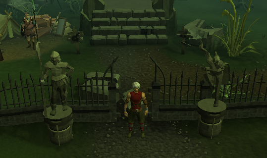 Statues of Turael and Duradel