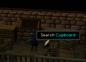 Search the cupboard