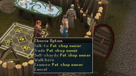 Wolf Whistle - 'Talk-to' Pet Shop Owner