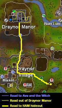 Map back to the manor