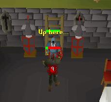 Fighting a black knight