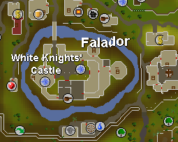 The white knight fortress