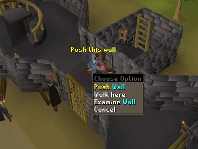 Push the wall