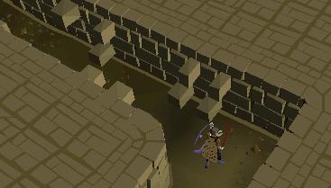 Wall trap