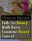 Death to the Dorgeshuun - Talk to Dwarf