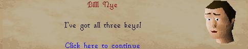 I've got all the keys