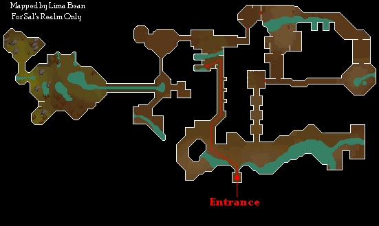 Varrock Sewer Map