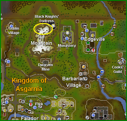 Location of the oracle