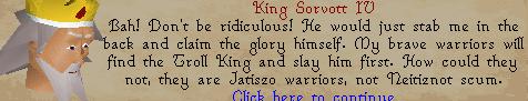 The Fremennik Isles - King sorvott IV