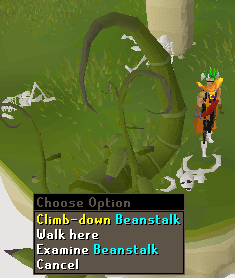 Grim Tales - Climb down beanstalk