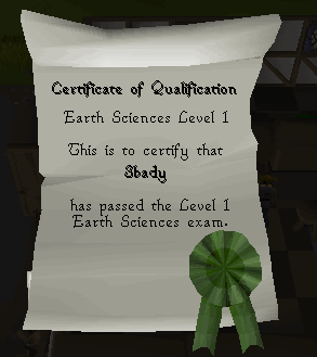 The Dig Site - Level 1 Certificate