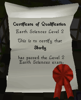 The Dig Site - Level 2 Certificate