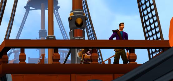 Sailing to Taverly