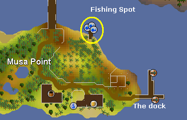 The Musa point docks