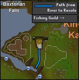 Route from Rasolo to the fishing spots
