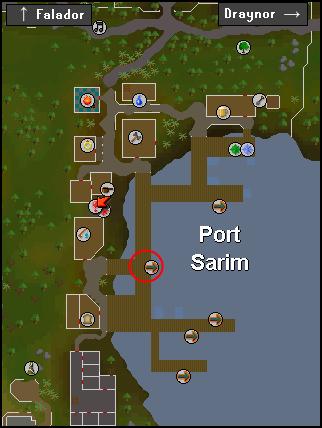 The port sarim dock