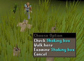 Shaking Box