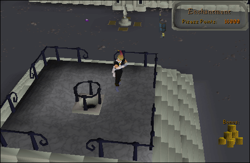 Enchantment room of the mage training arena