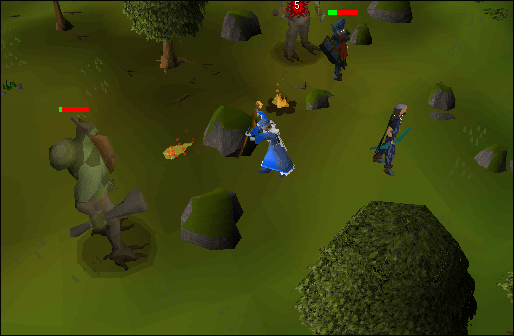Maging a mossgiant while wearing infinity robes