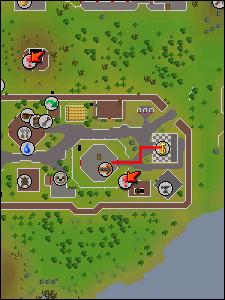 Map to essence mine