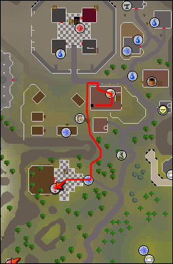 Map to Heroes' Guide mine