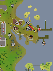 Route to the Khazard mine