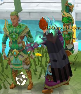 Pickpocketing elves