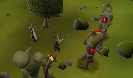 Skill Training Ranged Sal S Realm Of Runescape Moss giants are very commonly trained on, since their defence level is rather low in comparison to other monsters of the same combat level. skill training ranged sal s realm of
