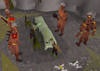 Ranging fire giants