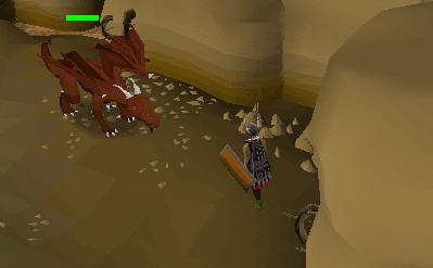 Ranging red dragons