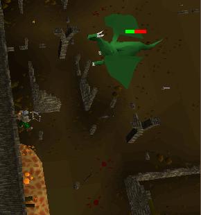 Ranging green dragons