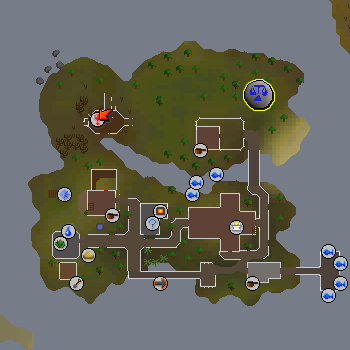 Law Runecrafting Altar map