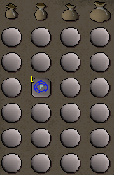 Needed items for Runecrafting via the abyss