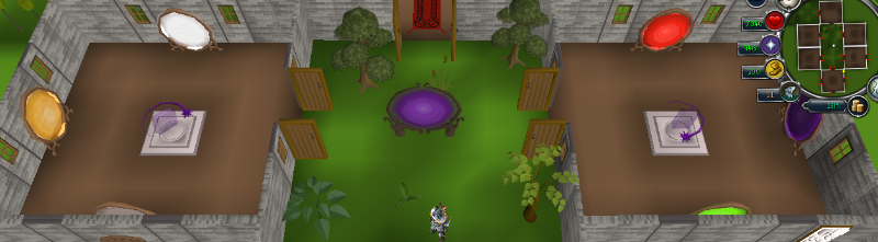 PoH teleport room