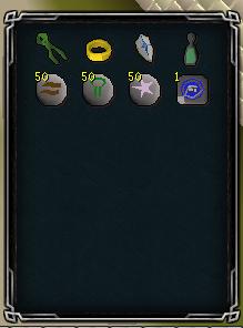 Herb runs inventory