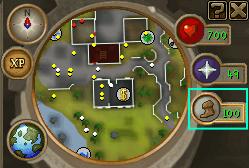 The Run Energy icon/indicator