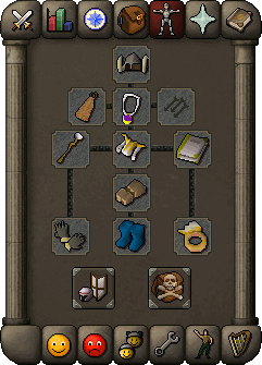 Suggested mage equipment