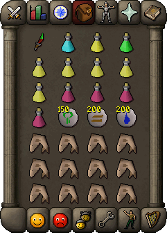 Suggested inventory