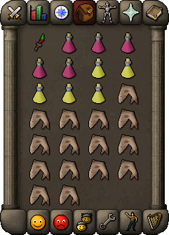 Suggested hybrid inventory