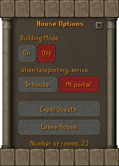 House options