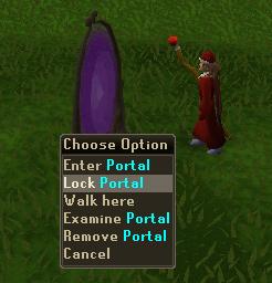 Lock Portal