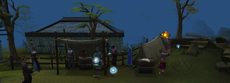 Divination camp