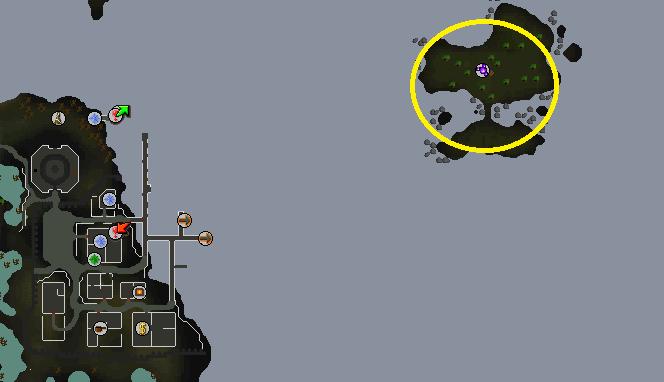 Dragontooth Island location