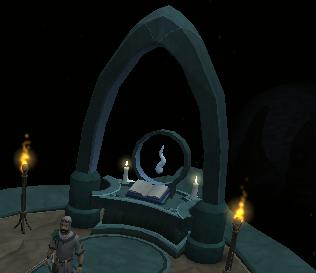 Guthix shrine